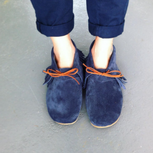 blue franjas
